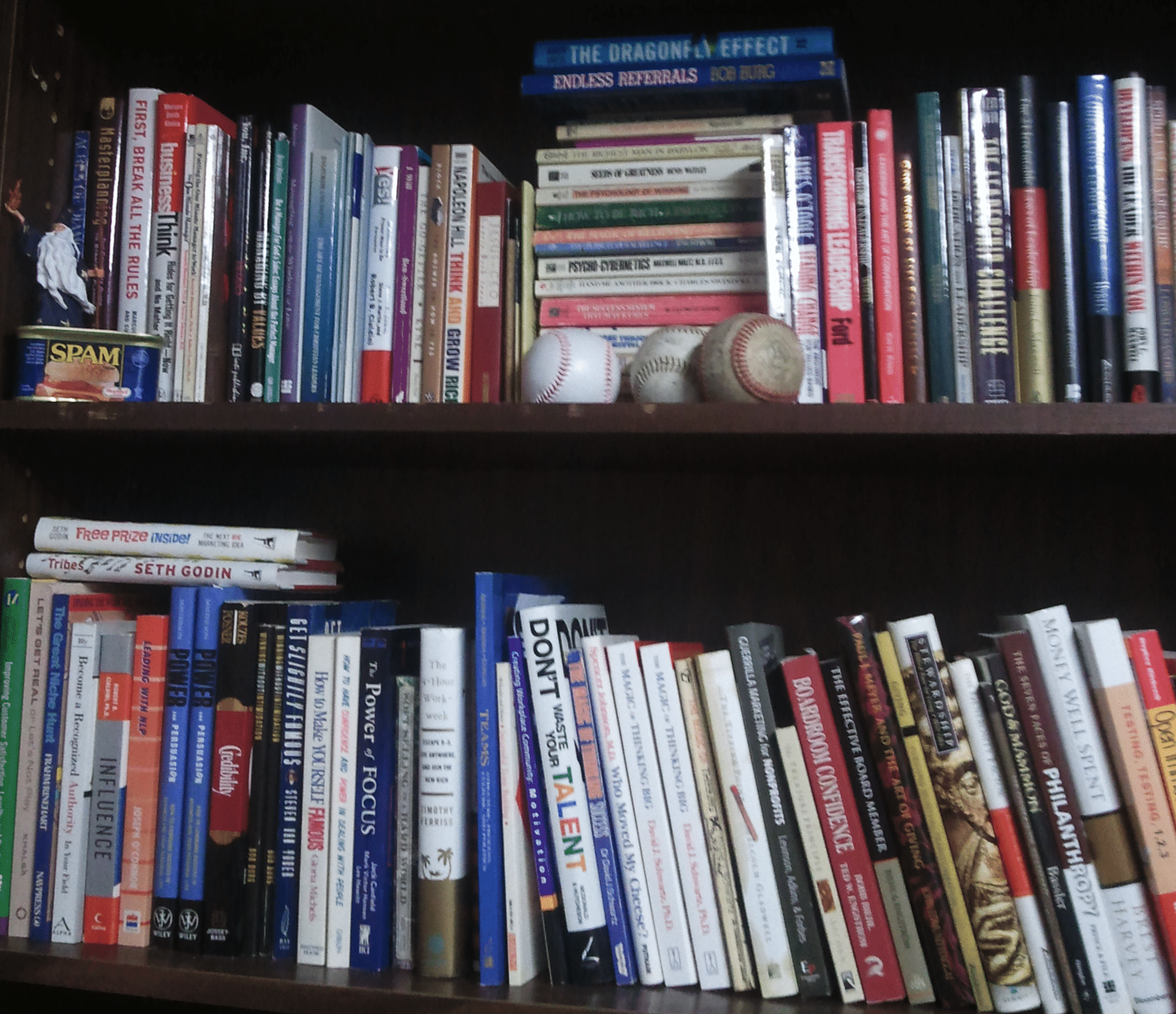 The Fundraising Coach Book Shelf!