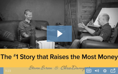 Are you telling the RIGHT story in your fundraising?