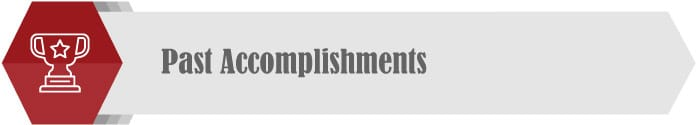 Reflect on past accomplishments to maintain momentum in the new year.
