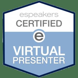 espeakers Certified e Virtual Presenter