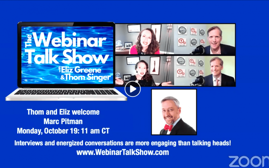 Marc Pitman on The Webinar Talk Show