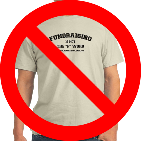 We're not selling t-shirts